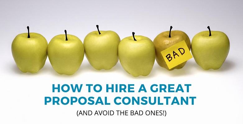 How to hire a great proposal consultant (2)