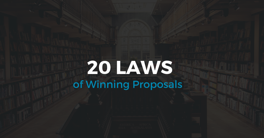 20 Laws of Winning Proposals
