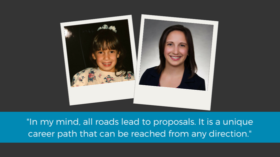 In my mind, all roads lead to proposals. It is a unique career path.'- Lisa Shea Mundt.png