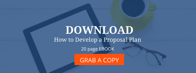 how to develop a proposal plan